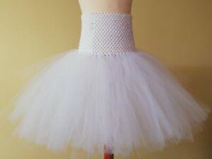 Kinder Tutu Tüllrock Petticoat Ballettrock Fasching Gr.98 -134 in ver. Farben