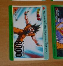 DRAGON BALL Z DBZ AMADA PP PART 14 CARD CARDDASS CARTE 556 MADE IN JAPAN NM