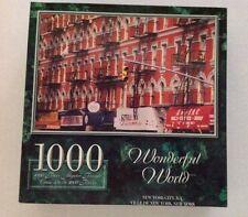 "1000 piece Wonderful World ""New York City, N.Y."" Sure-Lox Puzzle age 12+"