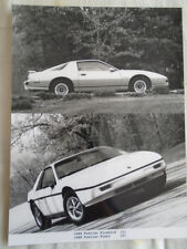 Pontiac Firebird Fiero mpress photo brochure 1988