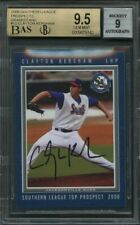 2008 southern league prospects grandstand #12 CLAYTON KERSHAW rc auto BGS 9.5
