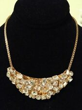 "KATE SPADE Jewel Encrusted ""Flash Mob"" Crystal Statement Bib Necklace *NEW*"
