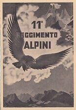 A5468) BRUNICO (BOLZANO), 11 REGGIMENTO ALPINI DIVISIONE PUSTERIA.