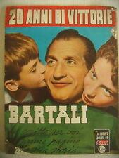 CICLISMO 1952 20 ANNI DI VITTORIE DI GINO BARTALI  E FAUSTO COPPI OLMO E MINARDI