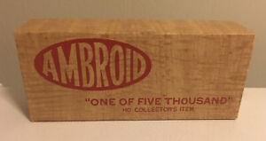 HO AMBROID Baltimore & Ohio CUSHION COILCAR UNASSEMBLED WOOD KIT