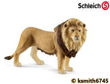 Schleich MALE LION solid plastic toy wild zoo animal LION cat predator * NEW *💥