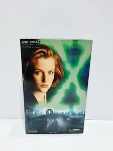 "THE X-FILES SIDESHOW COLLECTABLES 12"" DANA SCULLY FBI FIGURE"