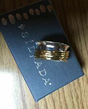 Silpada New in box Go For a Spin Ring Size 11 R3363