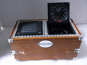 Spirit of St. Louis Radio Alarm Clock S.O.S.L. Aviator Case, Remy Martin Edition