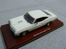 Chevrolet Impala 1967 2 Door Coupe Ermine white weiß TSM Modellauto 1:43
