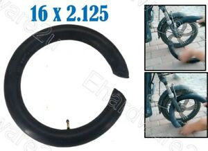 Bicycle E-Bike Double Ended Inner Tube 16X2.125 (Without Off Wheel) (CT16X2125)