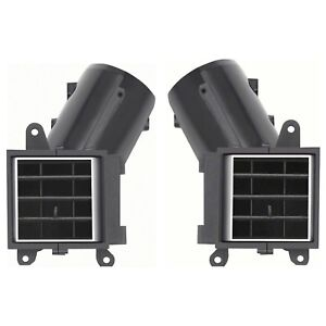 OER 3998407-08 1970-1981 Chevy Camaro Dash Vent Set With Air Conditioning