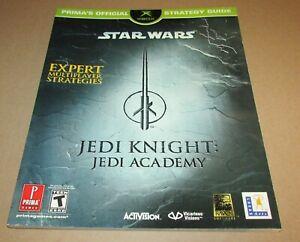 Star Wars Jedi Knight: Jedi Academy Strategy Guide for Xbox