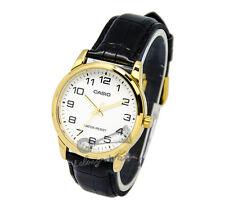 -Casio MTPV001GL-7B Men's Strap Fashion Watch New & 100% Authentic