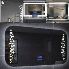 LED Bathroom Mirror With 4 Styled Lighting
