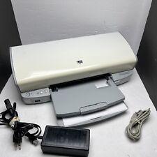 HP Deskjet D4160 Digital Photo Inkjet Printer  -Works great, needs ink BB