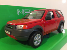 Land Rover Freelander Rouge 1:24 Echelle Welly 22077R