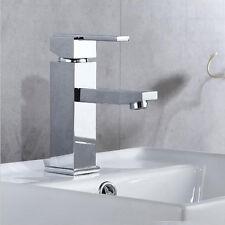 Chrome Bathroom Mono Basin Faucet Spout Sink Single Hole Handle Mixer Tap Brass