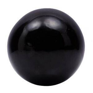 Harmonize Black Tourmaline Stone Sphere Ball Balancing Reiki Healing-ph2