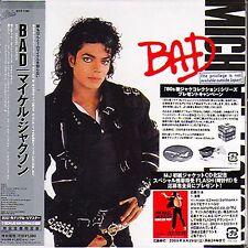 MICHAEL JACKSON - BAD - JAPAN MINI LP CD