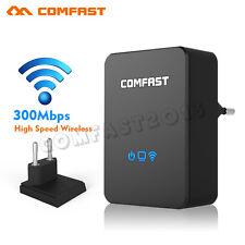 COMFAST Mini 300Mbit WiFi WLAN Repeater Verstärker Router AP Angebot Extender EU