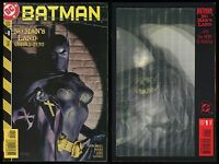 Batman No Man's Land Comic set 0-1 Lot Lenticular Magic Motion Alex Ross cvr art