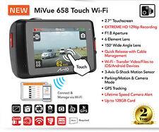"""Mio MiVue 658 Touch WiFi 2.7 """"incidente automobilistico CRASH DASH Fotocamera HD 2304p registrazione"""