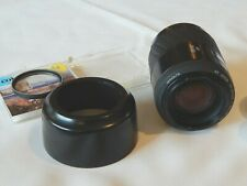 AF Minolta Maxxum 70-210mm F/4.5-5.6 Zoom Lens from japan With Optilight & More