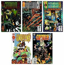 GENERATION X (1994) #1 3 4 5 6 SET OF 5 X-MEN VOLUME ONE MARVEL COMICS NM/VF