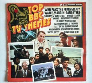 Top BBC TV Themes Vinyl Record