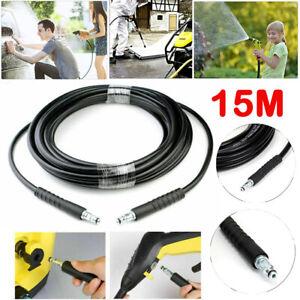 15M High Pressure Washer Extension Hose For Karcher K2 K3 K4 K5 K7 K Series UK