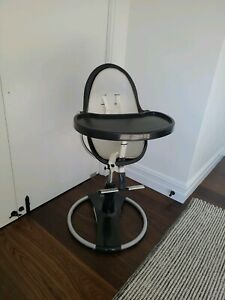 Bloom Fresco High Chair, black frame, good used condition