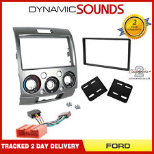 CT23FD14 Car Radio Stereo Double Din Facia Panel & ISO Kit for FORD RANGER 07-12