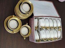 SPODE COPELANDS ANTIQUES 15 CUPS + 12 SAUCERS ANTIQUE SOUP CREAM CUPS R3396