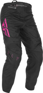 Fly Racing F-16 Pants | Black/Pink | Choose Size