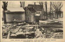 Montpelier VT 1927 Flood Damage VINTAGE EXC COND Postcard #15