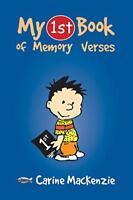 MY FIRST BOOK OF MEMORY VERSES (Bible Teaching) by MACKENZIE CARINE, NEW Book, F