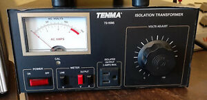 Tenma Variable Isolated Transformer
