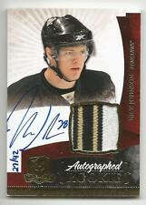 10-11 Nick Johnson The Cup Auto Rookie Card RC #135 Gold Rainbow Jersey 27/42