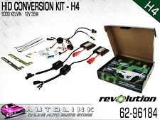REVOLUTION HID CONVERSION KIT H4 12V HIGH / LOW WITH SLIM BALLASTS 62-96184