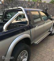 To Fit 1996 - 2005 Mitsubishi L200 Triton Sport Roll Bar Stainless Steel 4x4