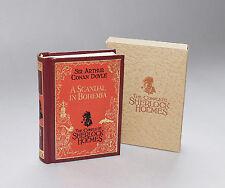 MINIATURE BOOK  Sir Arthur Conan Doyle Vol. 1 A Scandal in Bohemia