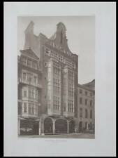 LONDRES, THURSTONS AND CO -1906 -PLANCHE ARCHITECTURE- LEICESTER SQUARE, BILLARD
