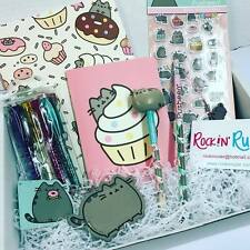 Cute Pusheen Kawaii Stationery Box, Gift, Back to School, Kids, College, Office