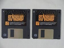 """Future Visionary Inc: Command Starship PC MS DOS 3.5"""" Disks 6&7 ONLY 1993"""