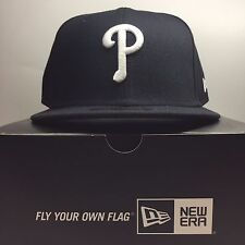 New Era 59Fifty Philadelphia Phillies SIZE 7 Fitted Baseball Cap 1  Free Post