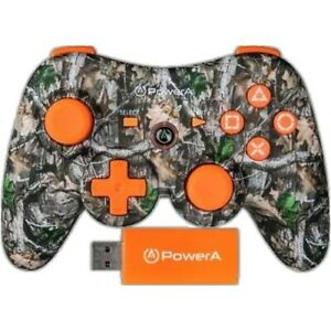 Sony PlayStation Controller Realtree Power A Pro Wireless Limited EditionTimber