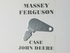 (2) Case, Massey Ferguson, John Deere,Tractor Ignition Key # 83353 Fast Shipping