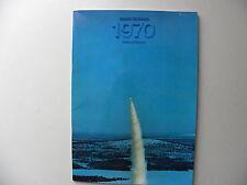 Catalogue  brochure SAAB - SCANIA rapport annuel 1970 en anglais