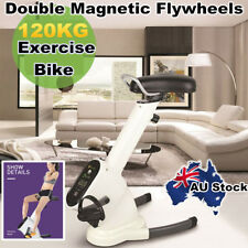 Folding Magnetic Exercise X-Bike - Bicycle Cycling Fly Wheel Fitness Machine
